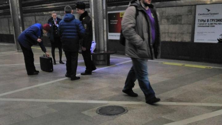 Забытый детский рюкзак устроил переполох на станции «Гагаринская»