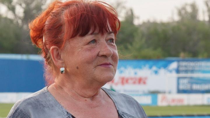 В Волгограде скончалась легендарный диктор Центрального стадиона Ольга Парамонова