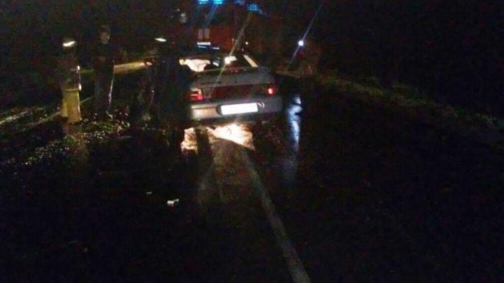 Ночное ДТП в Башкирии: один человек погиб, четверо – в больнице