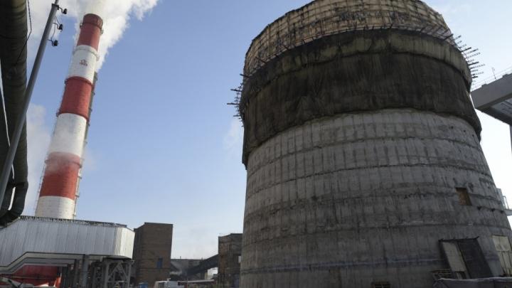 Растет потихоньку: как строят трубу на красноярской ТЭЦ-1