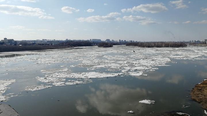 На Иртыше начался ледоход: смотрим в режиме онлайн