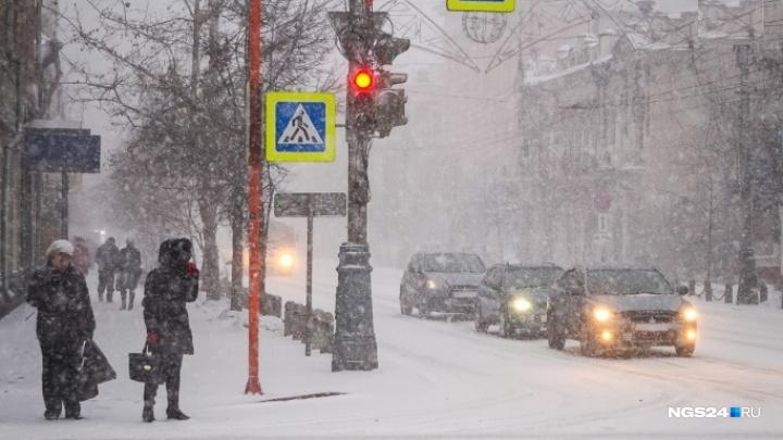 Новая рабочая неделя будет морозной и снежной