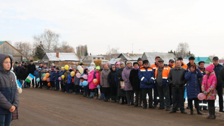 Между башкирскими селами построили дорогу за 105 миллионов рублей