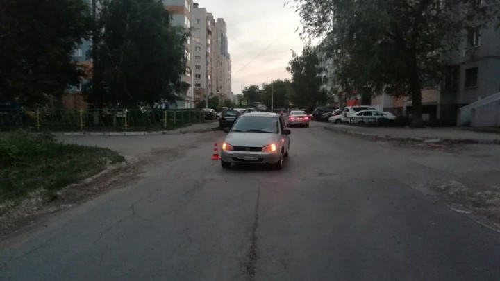 На Управленческом мужчина на ВАЗе сбил ребенка