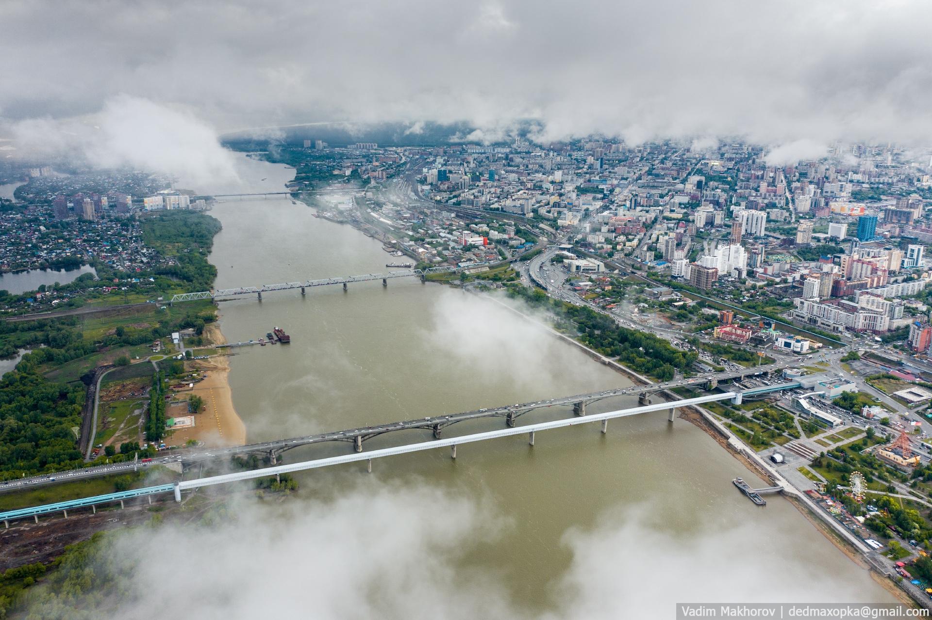 Вот так выглядит наш город после дождя