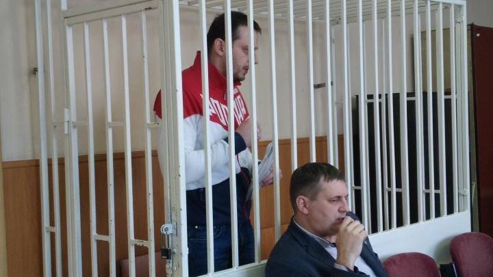 «Прошу назначить 13 лет лишения свободы»: в Кургане идут прения по делу Рыжука