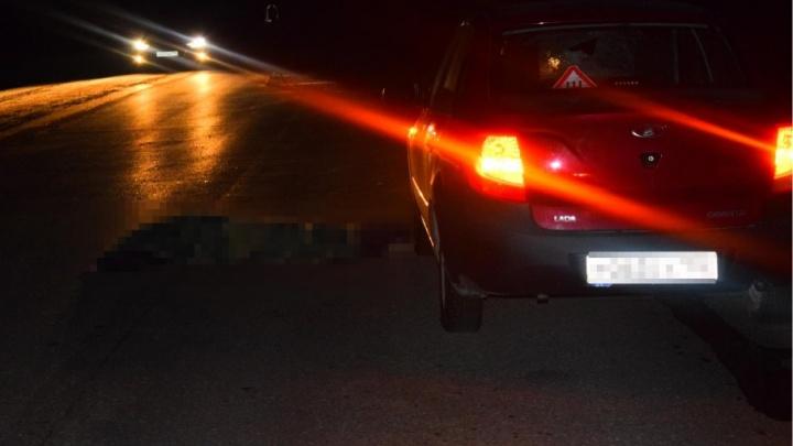 На дороге в Башкирии Lada Granta насмерть сбила пешехода