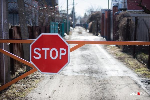 До середины мая в Нахичевани нельзя будет проехать по некоторым дорогам