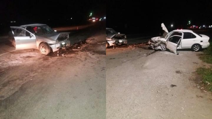 Семь человек пострадали во встречном ДТП на Ордынской трассе