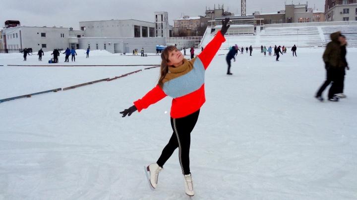 Горожане, точите коньки! Рассказываем, когда заработают катки у стадиона «Нижний Новгород»