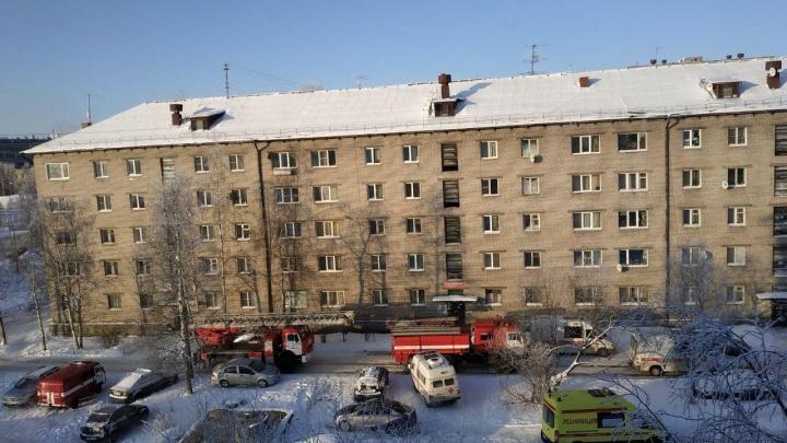 В Архангельске в пожаре погибло четыре человека