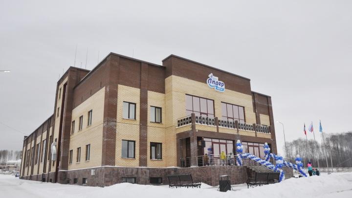 В Удмуртии под эгидой программы «Газпром — детям» открыли ФОК