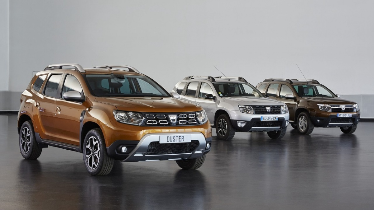 Новый Duster уже выпускается в Европе под маркой Dacia, но в России появится лишь в 2019 году под брендом Renault