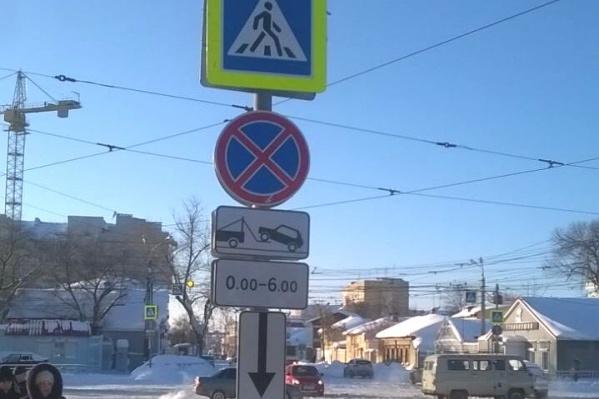 Правила парковки изменились на участке Галактионовской от Красноармейской до Вилоновской