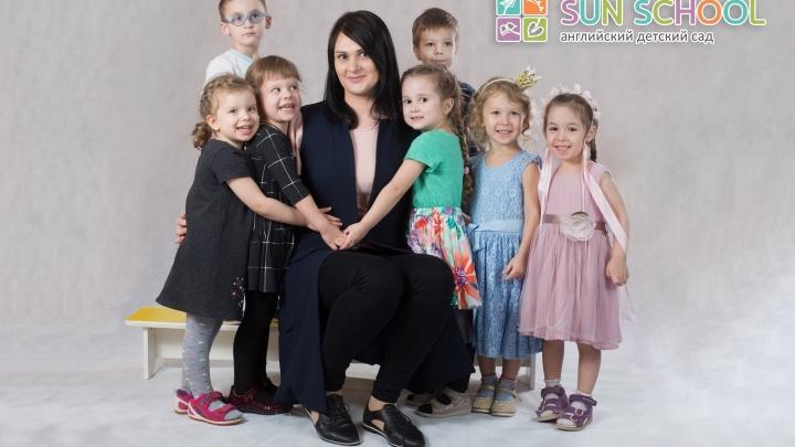 Частный детский сад учит детей с полутора лет говорить на английском
