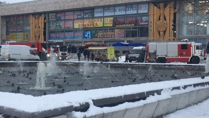 Эвакуировано более двухсот человек: во Дворце спорта прошли пожарные учения