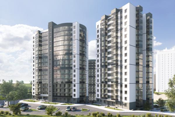 В «Ельцовском парке» будет два 16-этажных дома