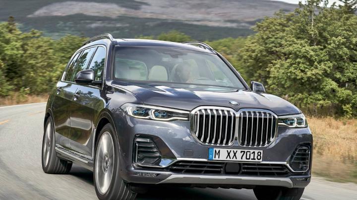 BMW раскрыла цены на гигантский внедорожник BMW X7 с 5-зонным климат-контролем
