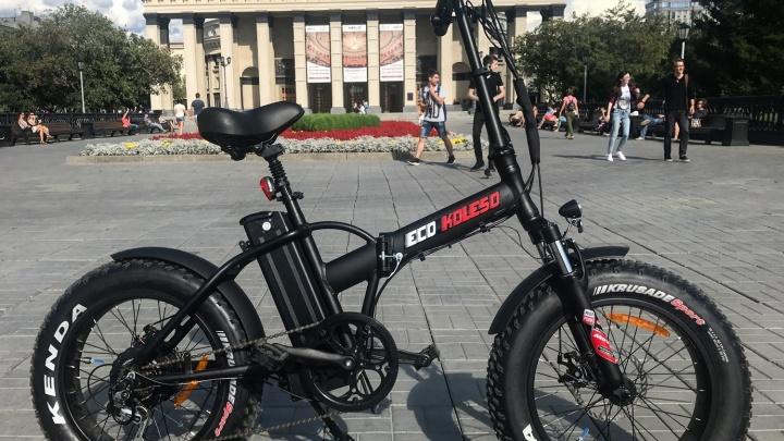 В Новосибирске началась распродажа электровелосипедов и электросамокатов