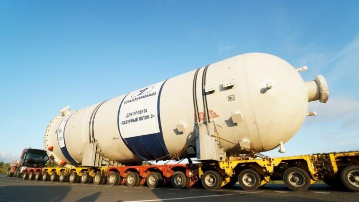 Время держат в секрете: с «Уралхиммаша» вывезут два гигантских бака-адсорбера для Газпрома