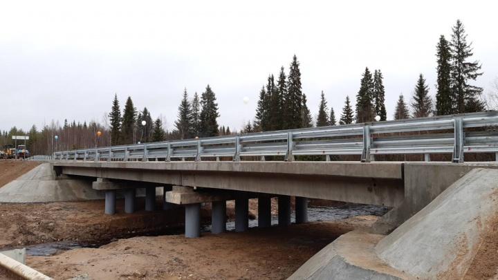 В Архангельской области открыли два новых моста