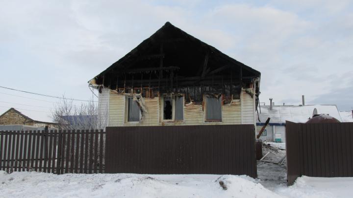 В Самарской области женщина погибла во время пожара в частном доме