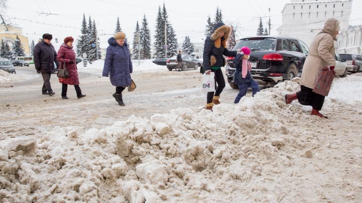Власти признались открыто: город не планировали убирать хорошо