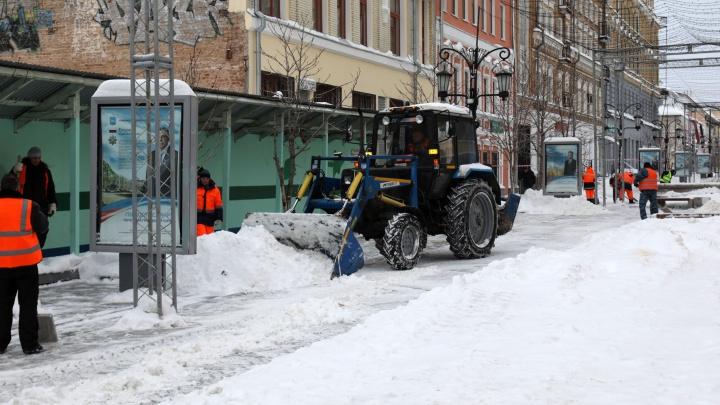 Службам благоустройства пригрозили штрафами за плохую уборку снега в Самаре