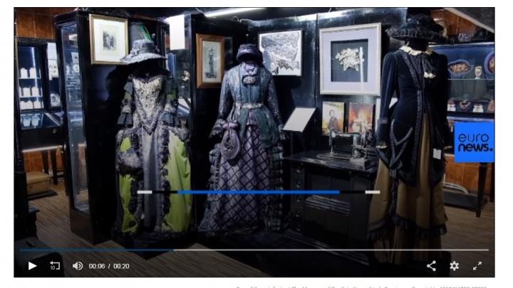 На европейском ТВ показали сюжет о «странном» новосибирском частном музее
