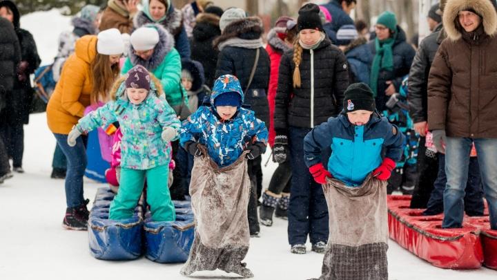 Будет много спорта: программа Масленицы в Ярославле