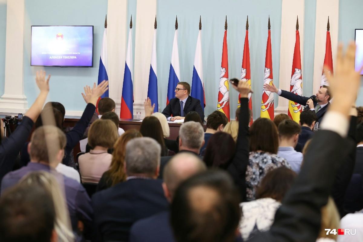 Алексей Текслер с момента своего назначения врио губернатора вызывает огромный интерес СМИ