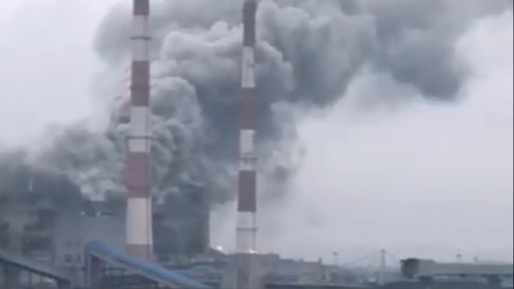 Ростовские власти признали, что «плановый сброс пара» на Новочеркасской ГРЭС был аварийным