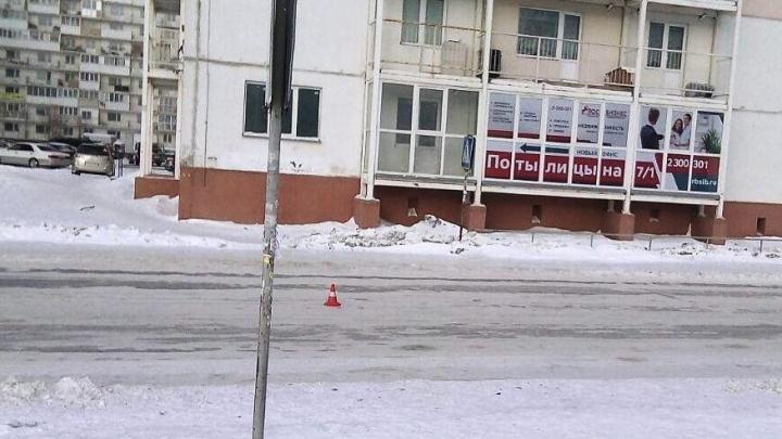 Школьница попала под колёса «Тойоты» на «зебре» на Плющихинском жилмассиве
