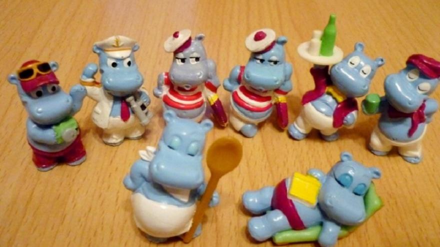 Назад в 1990-е: в Волгограде продают коллекцию бегемотиков Kinder Surprise за 17 тысяч рублей