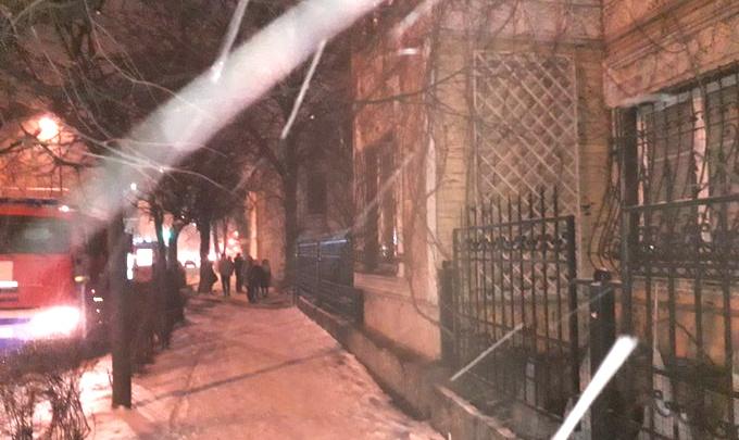 В центре Ярославля сгорел дом депутата муниципалитета