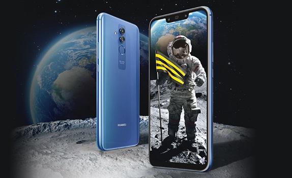 Новый смартфон Huawei Mate 20 lite является одной из флагманских моделей