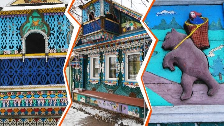 Уральский электрик превратил дом в терем: 25 фото, которые заставят вас поверить в сказки