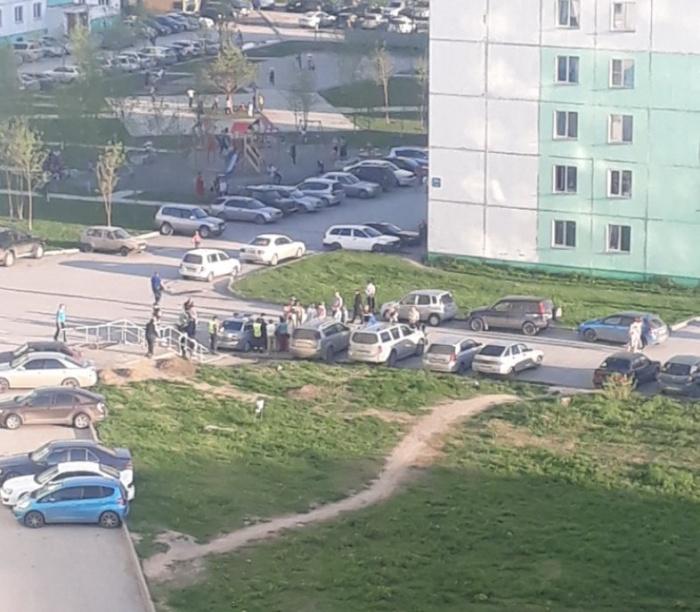 ДТП произошло во дворе дома  №39/1  на улице Татьяны Снежиной