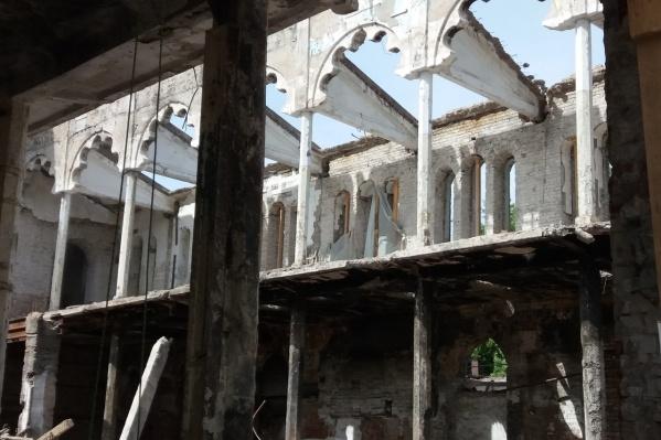 Вот так сейчас выглядит самарская синагога изнутри