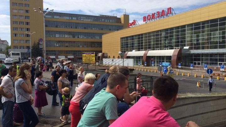 В Уфе спецслужбы прокомментировали эвакуацию на железнодорожном вокзале