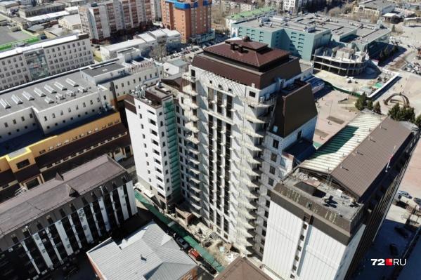 Достраивать административное здание будут за счет средств областного бюджета