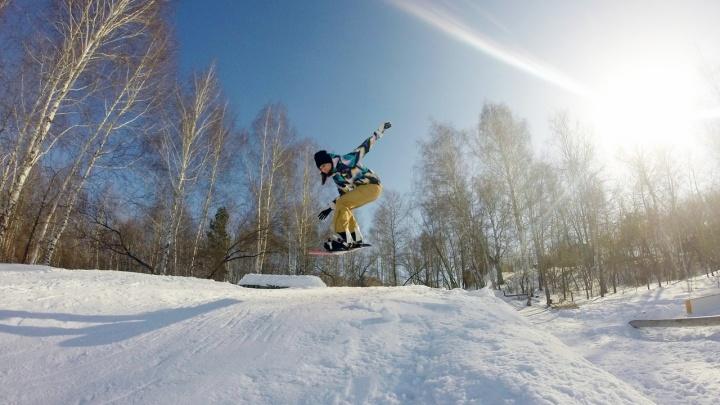 Сноубордисты, лыжники и велосипедисты покажут свое мастерство на «Снежной волне» в Кургане