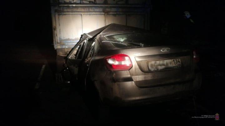 Машина влетела под КАМАЗ: депутат-единоросс Александр Долгих погиб в страшном ДТП под Волгоградом