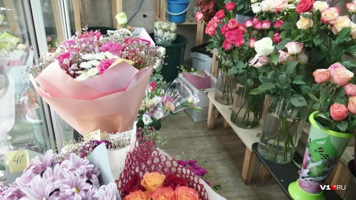 «Покупают по одному цветочку»: волгоградцы стали экономить на букетах ко Дню знаний