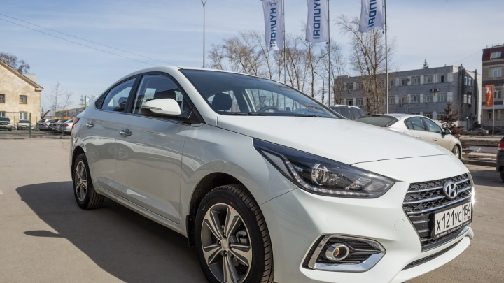 МВД купит новые Hyundai Solaris четырёх разных цветов