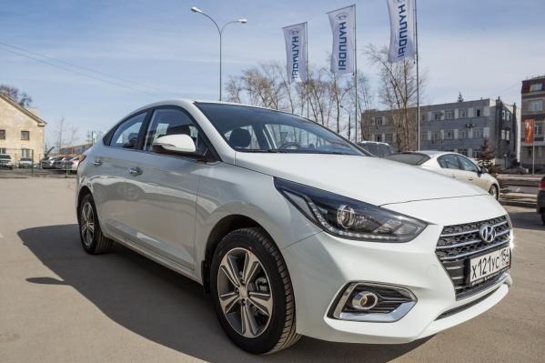 Сибирское окружное управление материально-технического снабжения МВДрешило купить 7 автомобилейHyundai Solaris