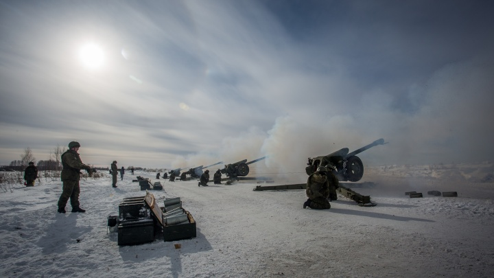 Из-за морозов сибирские военные стали реже устраивать построения на улице