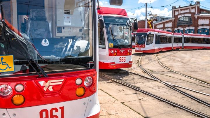«Это не поломка, а хулиганство пассажиров»: ТТУ о вставших возле «Самара Арены» трамваях