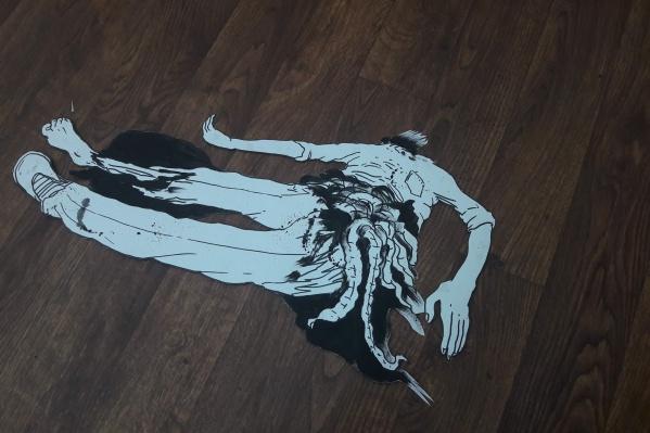 Нарисованная и вырезанная из бумаги фигура — один из элементов анимационного фильма