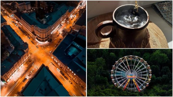 Лучшие фото этой недели: утренний ароматный кофе, перекрестки мегаполиса и колесо обозрения